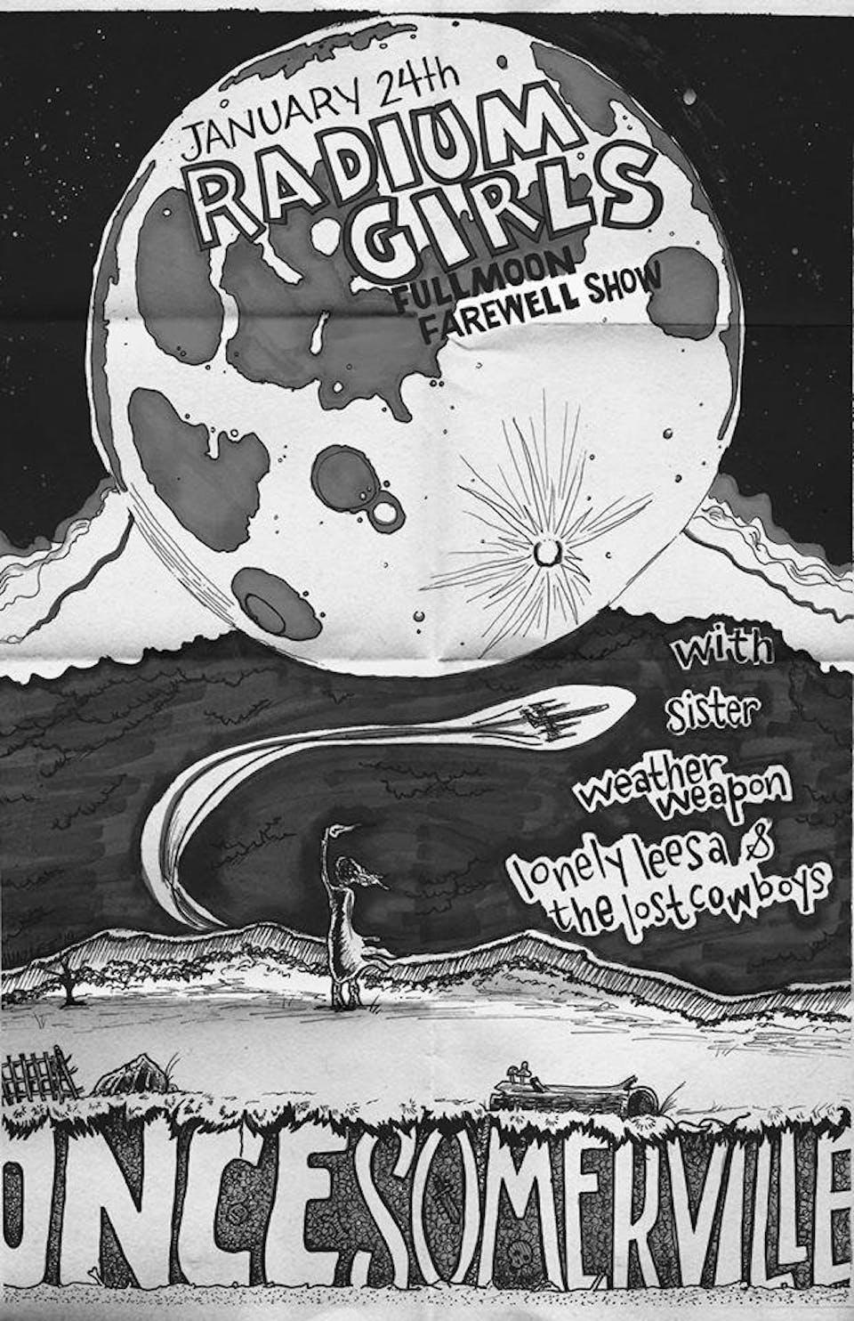 Radium Girls Full Moon Farewell