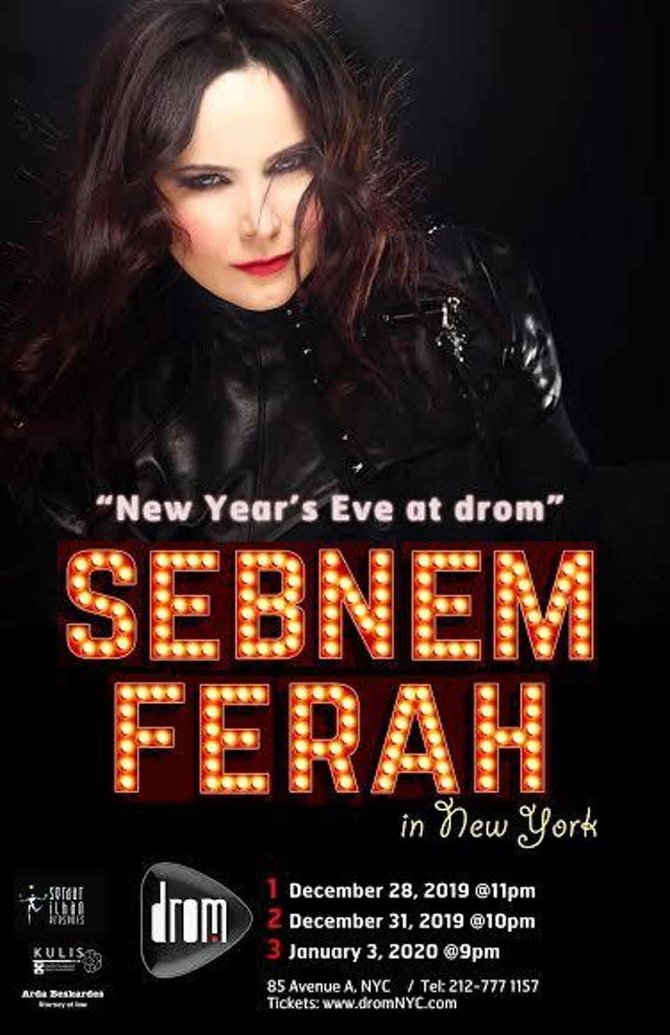 New Year's Eve at DROM with Sebnem Ferah