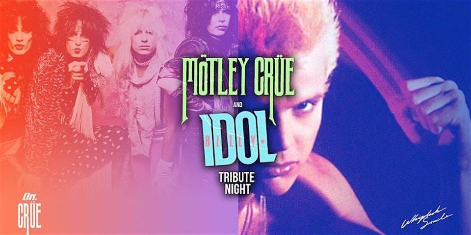 BILLY IDOL / MOTLEY CRUE Tribute Night at HIGH DIVE