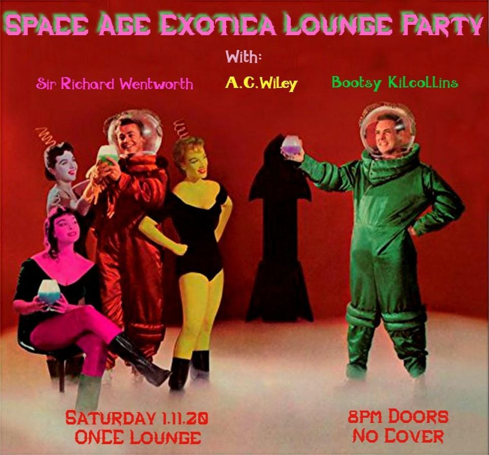 Space Age Exotica Lounge Party