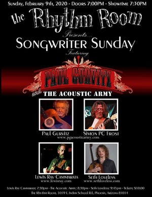 Songwriter Sunday!