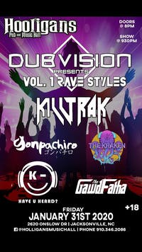 DUB VISION Presents VOL. 1 of RAVE STYLES