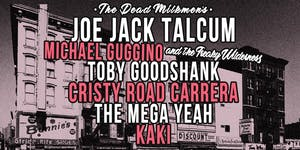 Joe Talcum, Michael Guggino, Toby Goodshank, Cristy Road, Mega Yeah, KAKI