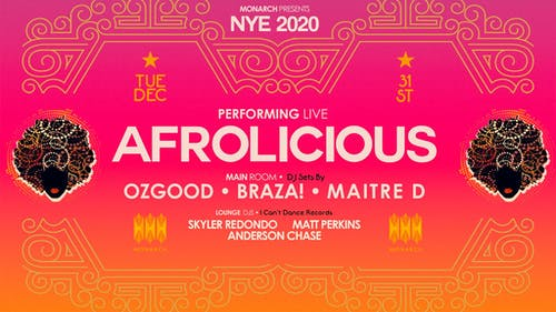 Afrolicious (Live) ~ New Year's Eve 2020