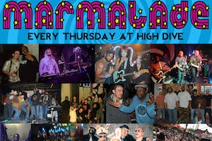• MARMALADE • Seattle's longest running LEGENDARY FUNK/IMPROV night!
