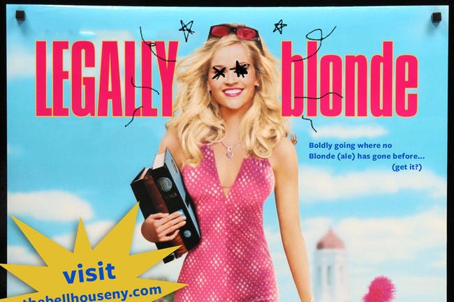 A Drinking Game NYC presents Legally Blonde