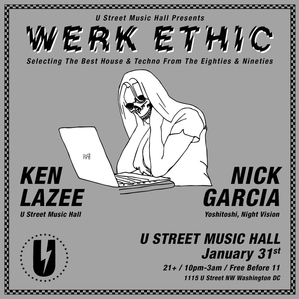 Werk Ethic: '80s and '90s House and Techno