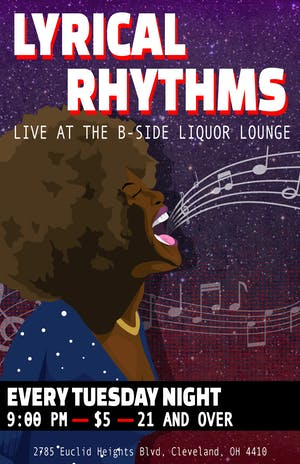 Lyrical Rhythms - Every Tuesday at B Side Lounge