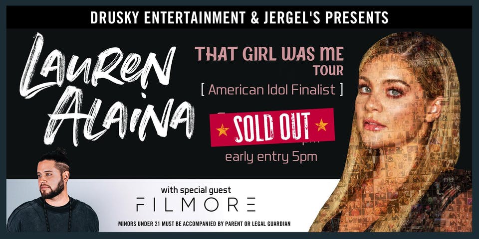 Lauren Alaina - SOLD OUT!
