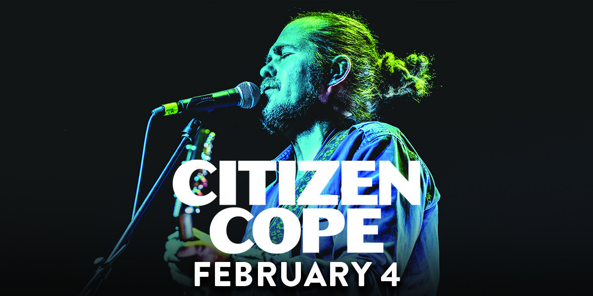 Citizen Cope (6:30pm Show)