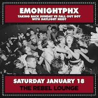EMONIGHTPHX - Taking Back Sunday vs Fall Out Boy