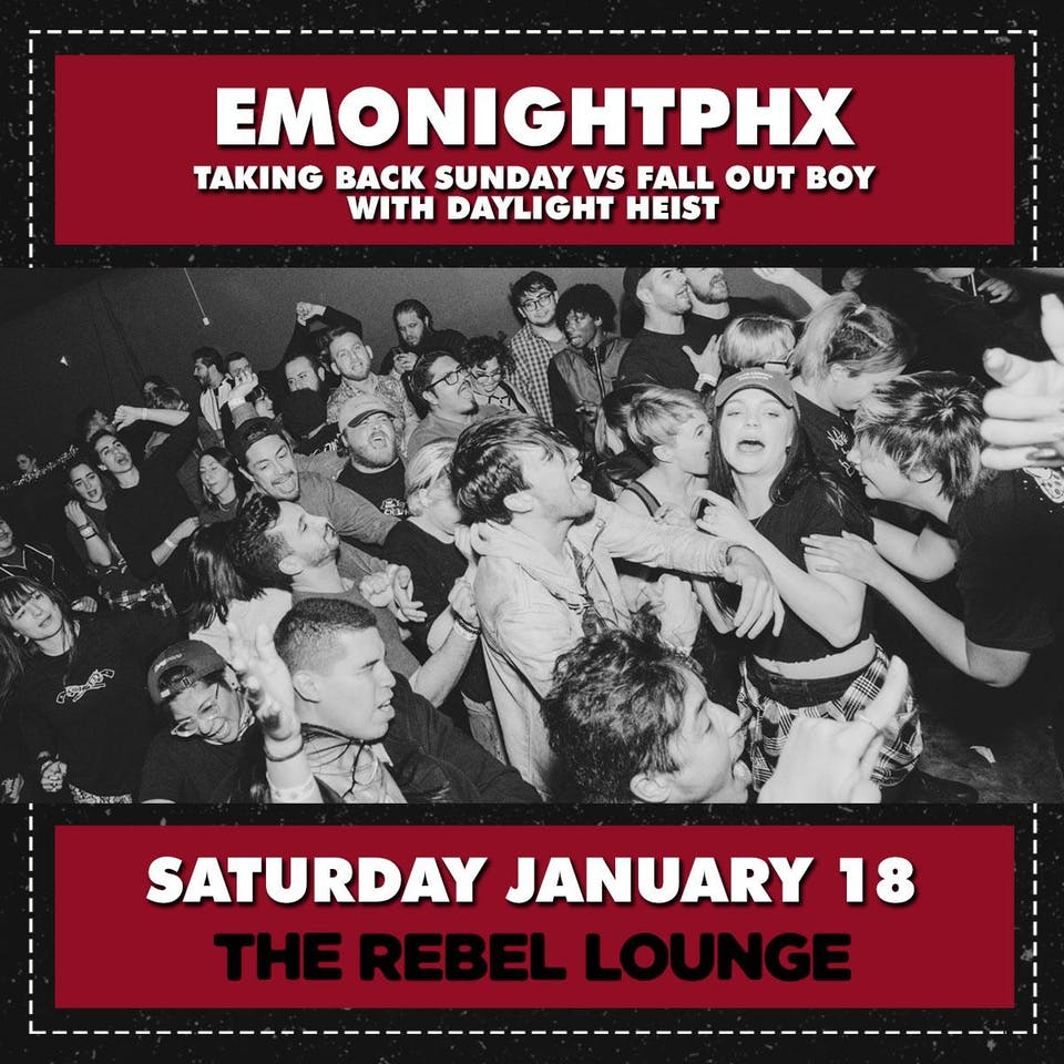 EMONIGHTPHX - Taking Back Sunday vs Fall Out Boy