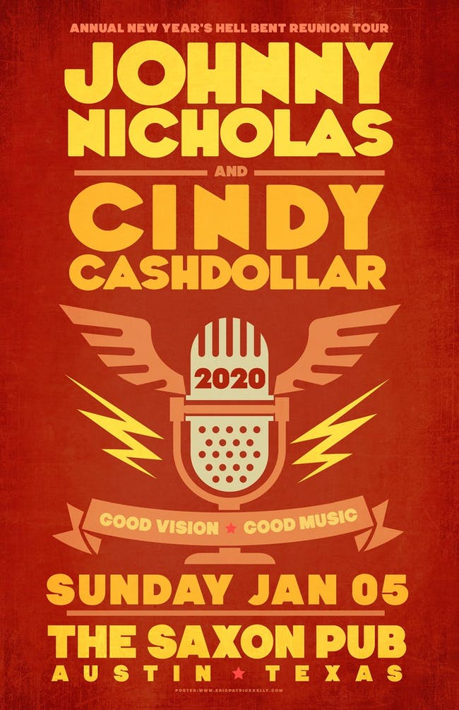 Johnny Nicholas & Cindy Cashdollar