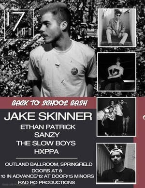 Jake Skinner w/ Ethan Patrick, The Slow Boys + More @ FOH Lounge