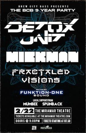 Detox Unit x Mickman