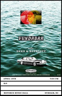 POSTPONED - VUNDABAR/ Dehd/ Boyscott