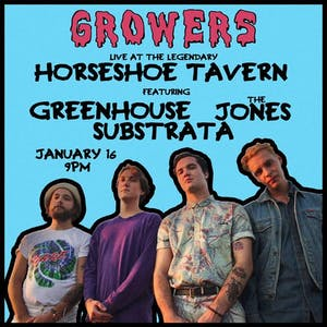 Growers, Greenhouse, The Jones, Substrata