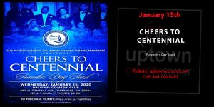 Cheers to Centennial Founders' Day Toast