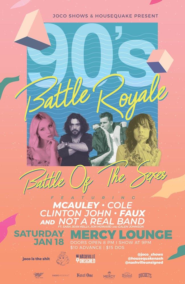90s Battle Royale: Battle of the Sexes