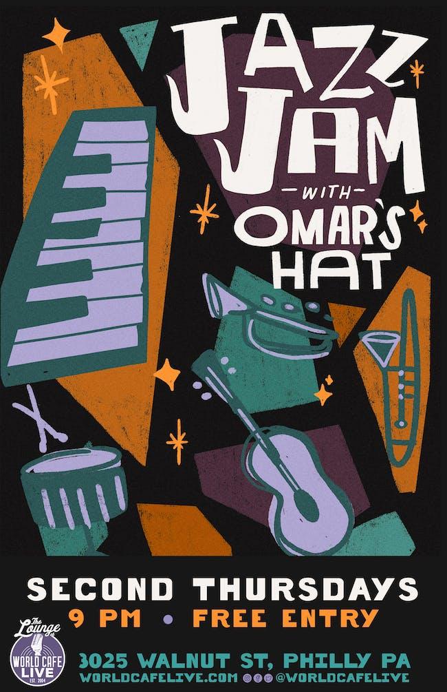 Jazz Jam with Omar's Hat