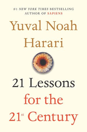 Manny's Book Club: 21 Lessons for the 21st Century by Yuval Noah Harari