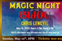 Magic Night at The Bijou with Chris Lengyel