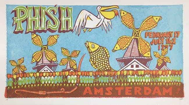 """Live Bait""  Phish Tribute Recreates Amsterdam 97"