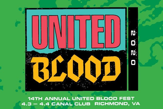 United Blood Festival 14 Saturday April 4