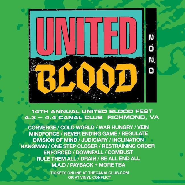 United Blood Festival 14 Saturday April 10, 2021