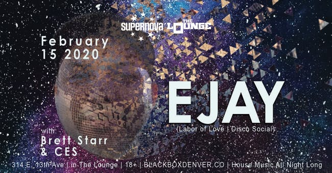 Supernova House Music presents EJAY