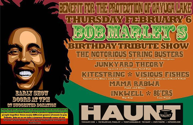 Bob Marley Birthday Tribute Show