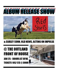 Red Shirts * ALBUM RELEASE SHOW *