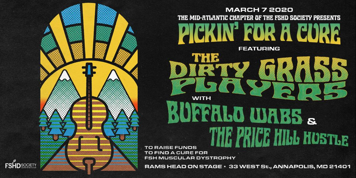 Pickin For A Cure ft. The Dirty Grass Players w/ Buffalo Wabs