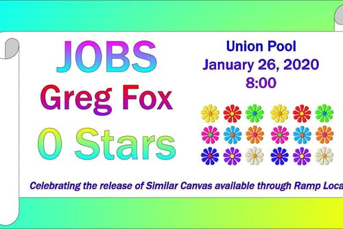 JOBS / Greg Fox / 0 Stars