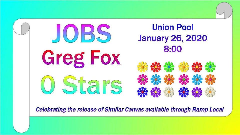 JOBS / Greg Fox / 0 Stars