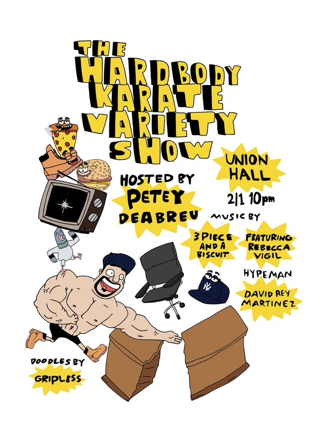 The Hardbody Karate Variety Show
