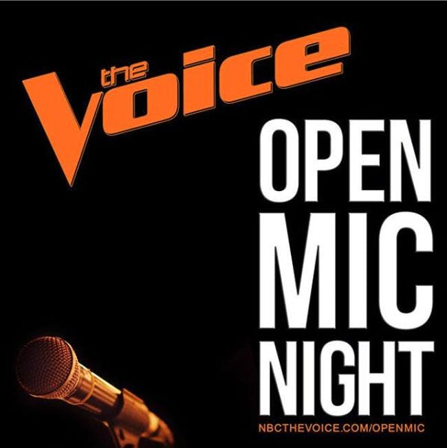 The Voice: Open Mic Night