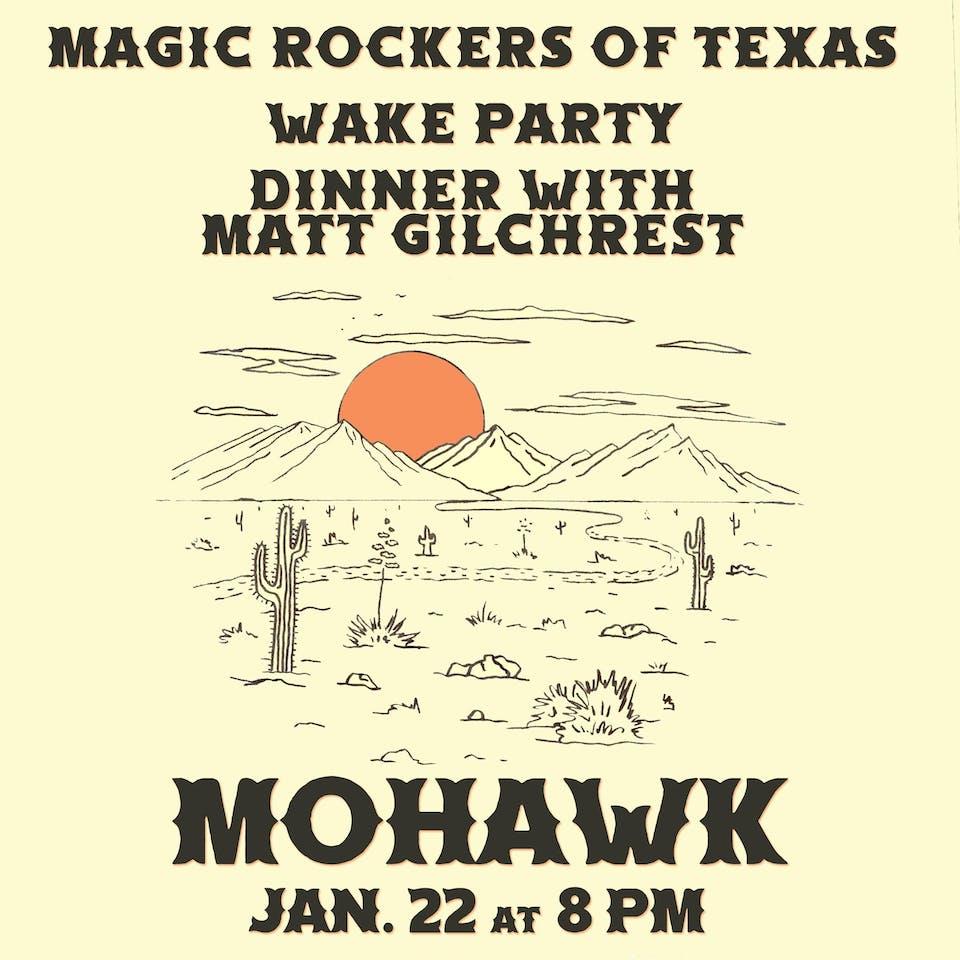 Wake Party @ Mohawk (Indoor)