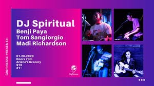 DJ Spiritual,  Benji Paya, Tom Sangiorgio, Madi Richardson at Arlenes (NYC)