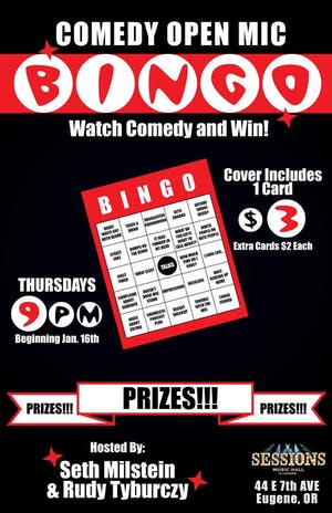 Comedy Open Mic BINGO