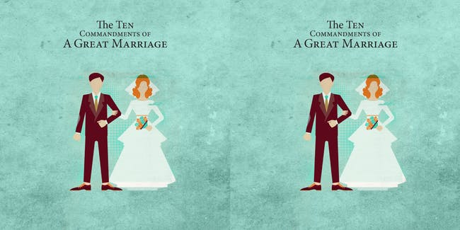 SOLD OUT | The 10 Commandments of a Great Marriage