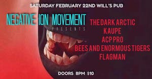 The Dark Arctic w/ Kaupe, ACP Pro, Bees and Enormous Tigers, Flagman