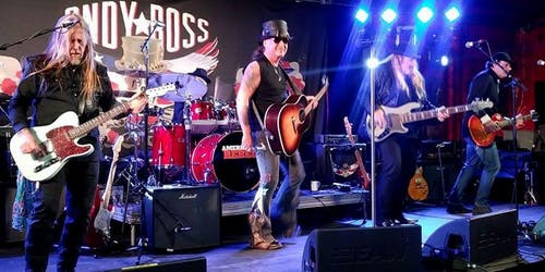 """CANCELED Andy Ross """"American Rebel"""" with Donnie Miller & Rude Awakening"""
