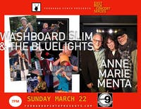 Washboard Slim & The Bluelights / Anne Marie Menta