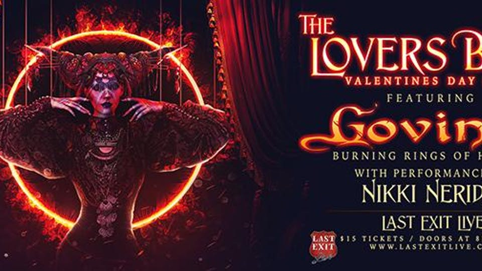 """""""The Lovers Ball"""" featuring GOVINDA"""