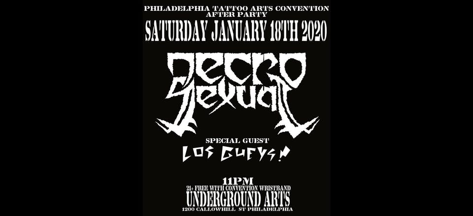 Philadelphia Tattoo Convention After Party