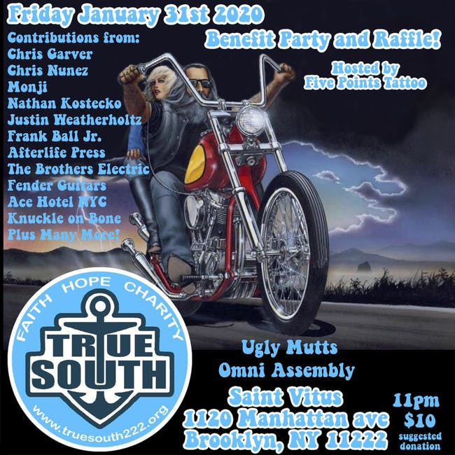 True South Benefit Party with Ugly Mutts and Omni Assembly
