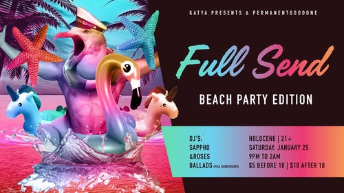 Full Send: Beach Party