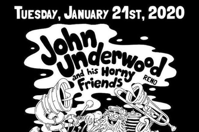 John Underwood and His Horny Friends / Wonder / Tina Bailey / AJ Odenal