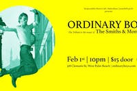 Ordinary Boys: Smiths / Morrissey Tribute